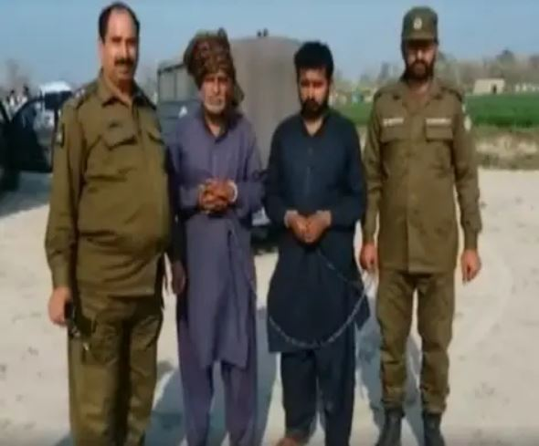 Image of The brothers arrested for honour killing