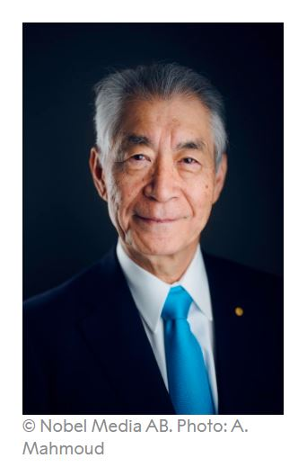 Image of Japanese Nobel winner Tasuku Honjo
