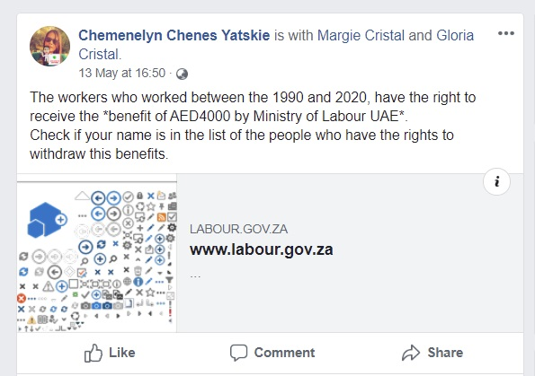 Image about Labour Workers Between 1990-2020 Get 120000 from Ministry