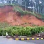 Massive Landslide on Guwahati-Shillong Road, Video