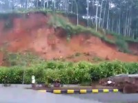 Massive Landslide on Guwahati-Shillong Road, Video