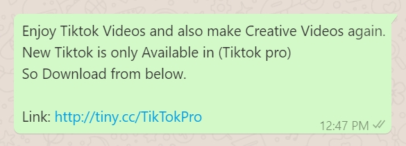 Image of Beware of Fake TikTok Pro Apps, Scams