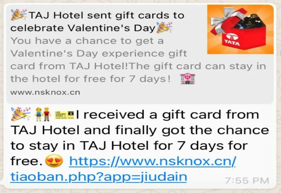 Image about Taj Hotels Free Gift Cards for Valentine's Day