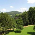 Parkanlegg på Heidelberg slott