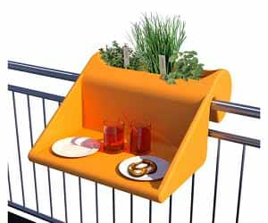 multifunctional balcony table