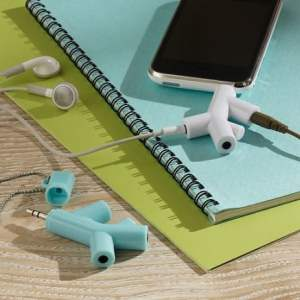 Branch earbud splitter