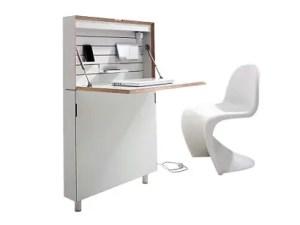 Prodotti space saving foldable secretarydesk