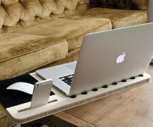 Slate mobile laptop desk