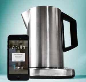 iKettle app controlled water cooker
