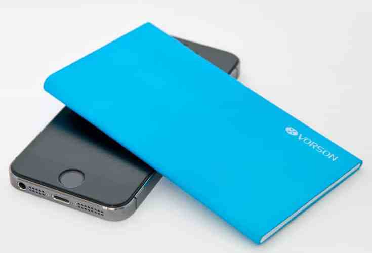 Vorson Bookmark ultra-thin external battery