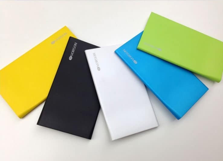 Vorson Bookmark colors