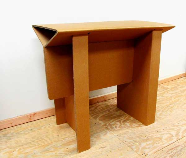 Cardboard Standing Desk U2013 Hobbr