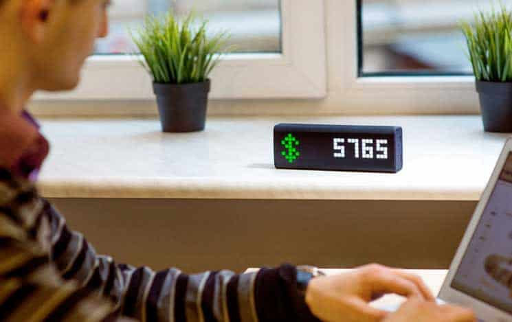 LaMetric smart ticker