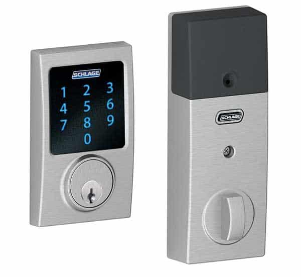 Schlage touchscreen deadbolt lock