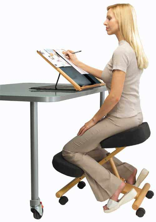 Ergonomic-kneeling-office-chair  sc 1 st  hobbr & 15 Best Active Sitting Chairs For Better Posture Productivity And ... islam-shia.org