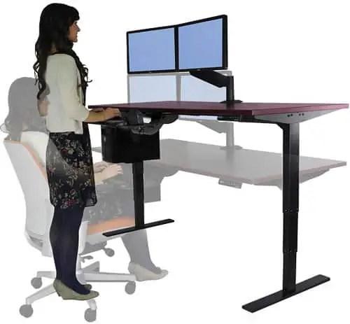 Uplift-stand-sit-desk