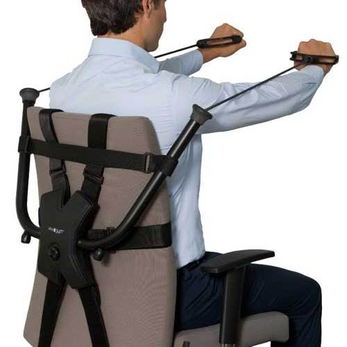 OfficeGym, turn your desk chair into a physical workout station