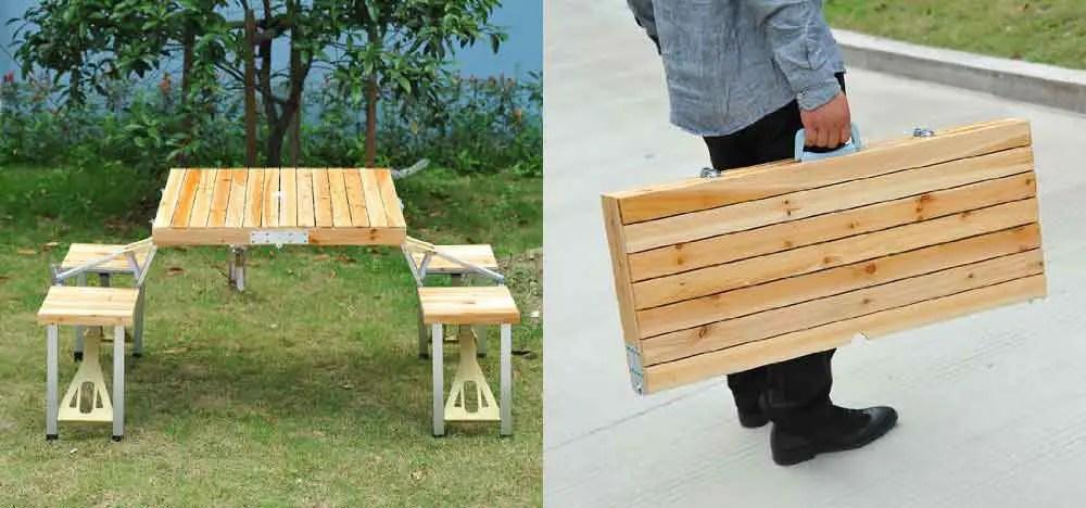 Outsunny Portable Picnic Table U2013 Hobbr