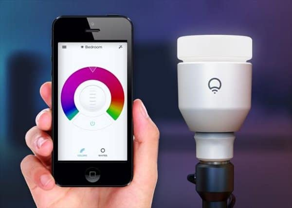 LIFX smart controllable light bulb