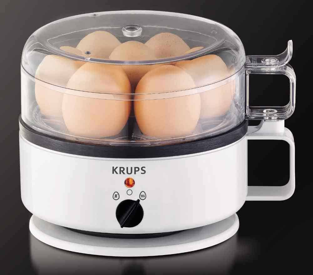 an egg cooker offers the fastest and easiest way to boil eggs