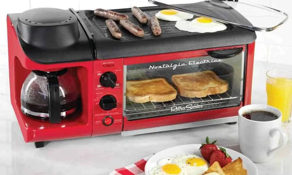 versatile breakfast cooking device