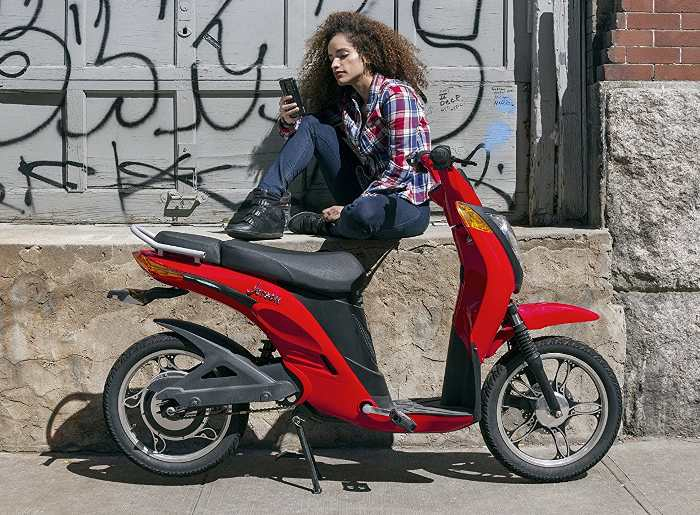 electric moped scooter