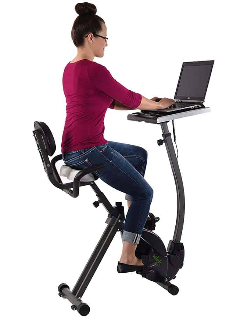 The Best Exercise Bicycle Desks Ready To Add A Day To