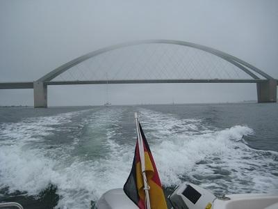 Besser ist es bei schönen Wetter ohne Nebel zu fischen.
