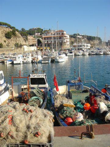arenys angeln Spanien an der Costa Maresme