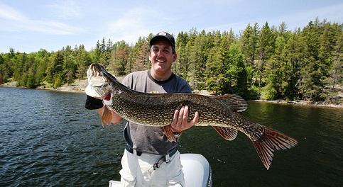 Das ist der Traumhecht, den jeder Angler einmal in den Armen halten möchte.