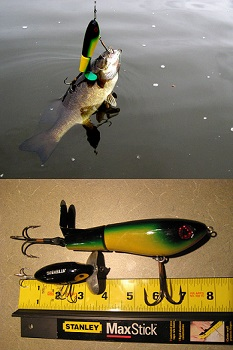 Topraider werden im Oberwasser eingestezt, die mächtig Druck erzeugen.