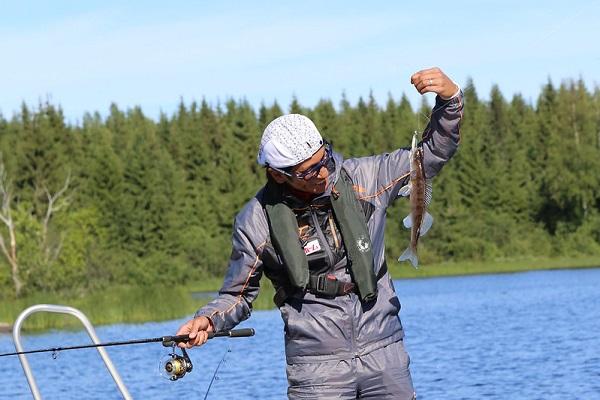 Zander fangen mit Köderfisch