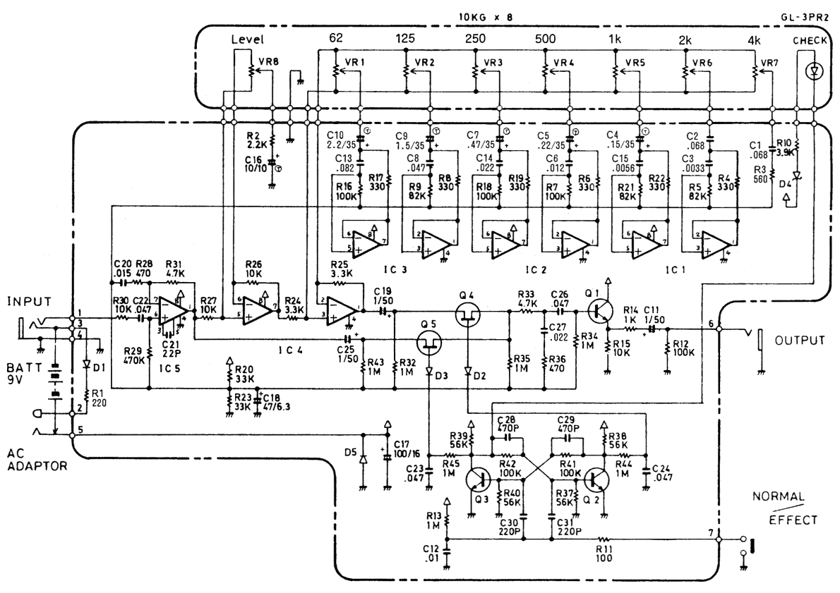 Pnp Germanium Fuzz Schematic
