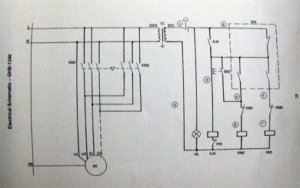 Enco 1101340 Lathe Contactor wiring | The HobbyMachinist