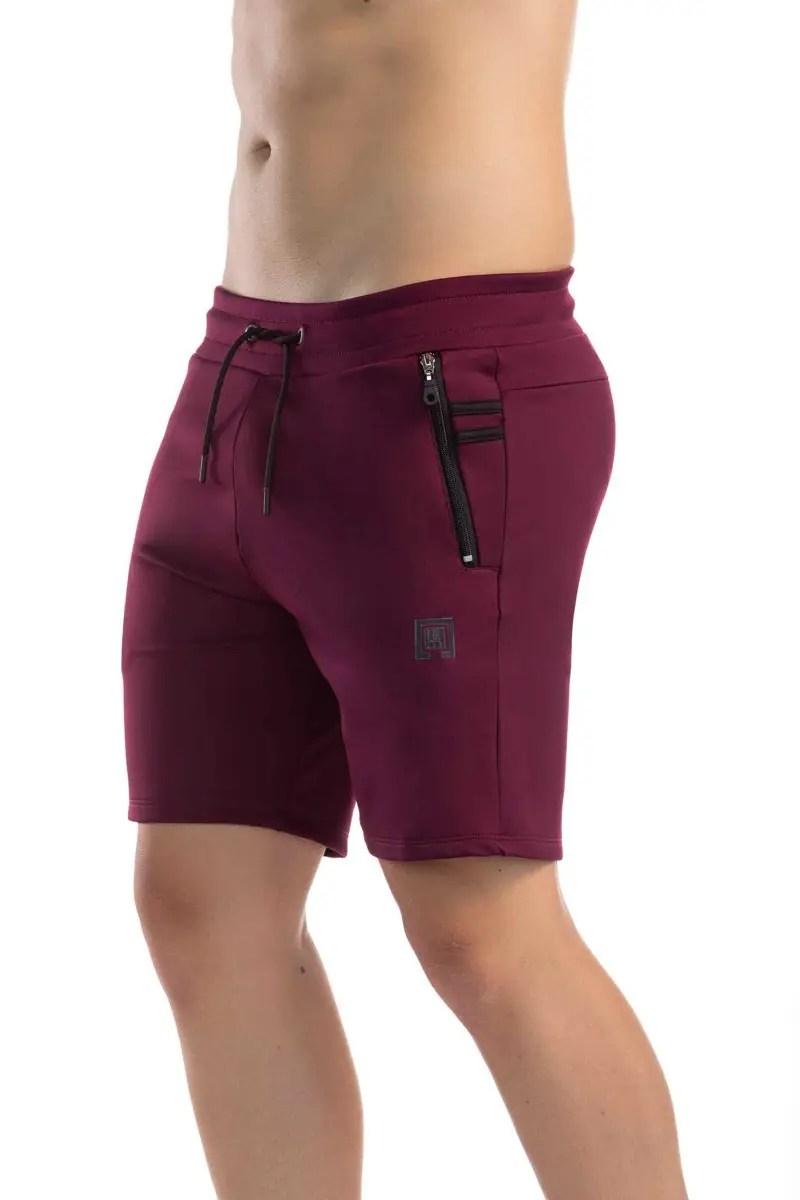 Pantaloneta 8008 Vinotinto Gimnastic Hobby-1