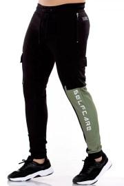 Jogger 7136 Negro Gimnastic Hobby-1
