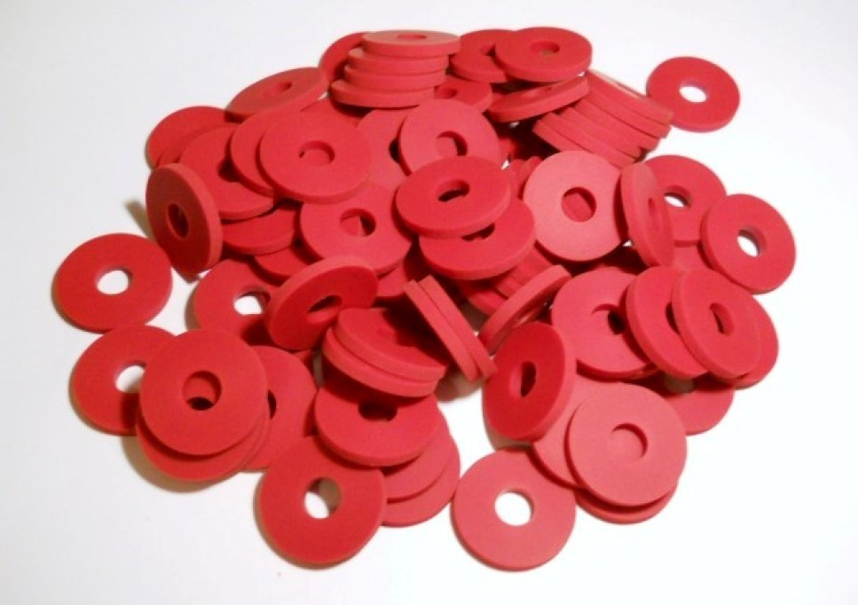 25 X Flat Gaskets O-ring Seal Silicone Rubber Water For Grolsch EZ Cap Swing