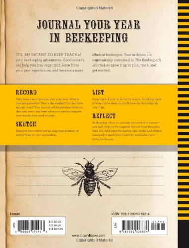 The Beekeeper S Journal An Illustrated Register For Your