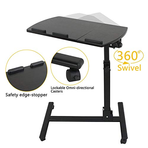 F2c Portable Adjustable Height 360 176 Swivel Laptop Desk Pc