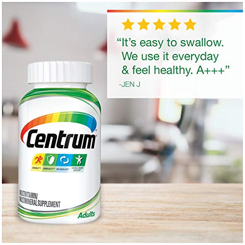 Centrum Adult 200 Count Multivitamin Multimineral Supplement Tablet Vitamin D3 Hobby Homebrew