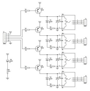 4 relay module | Hobbyistconz