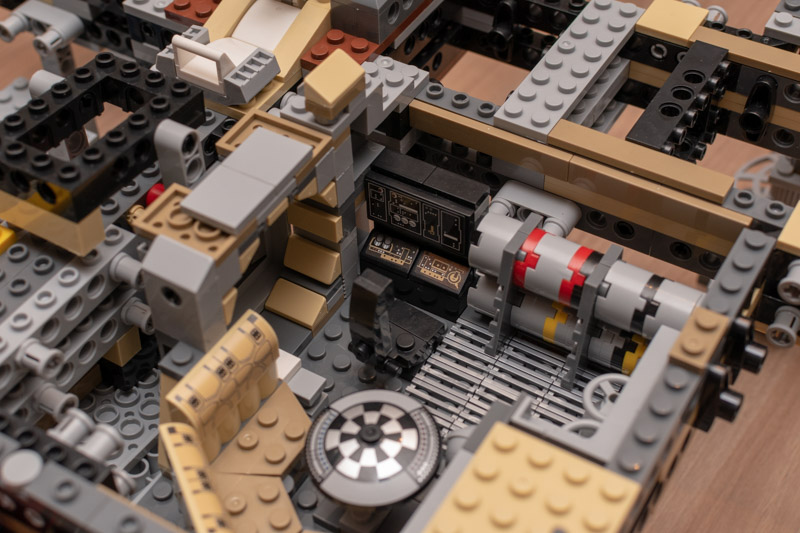 Review lepin millennium falcon deel 3