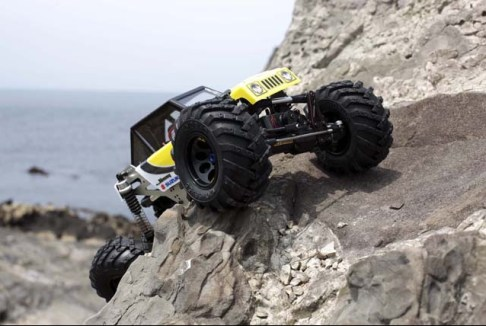 Kyosho Rock Force 2.2  fotografie