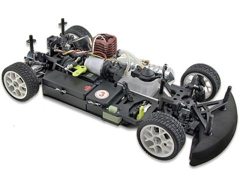 OFNA - LD3 Nitro Sedan - Automodello a scoppio in scala