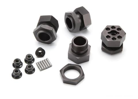 hpi-savage-aluminum-wheel-hex-hub-set-fruote-e-gomme-baja-5b-31