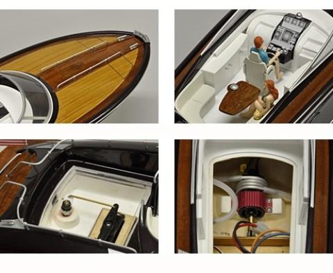 kyosho-barca-di-legno-y108