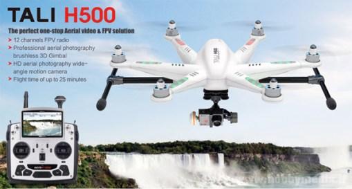 multicottero-walkera-tali-h500