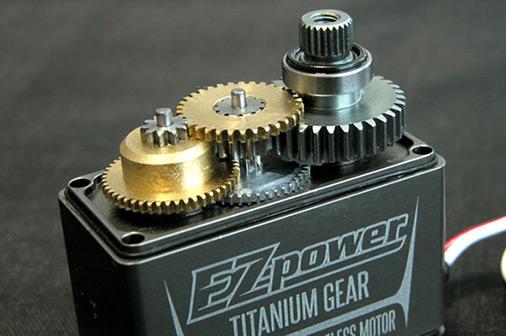 servo-ezpower-titanium-gear