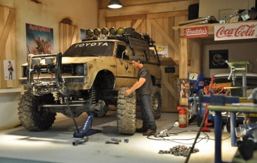 Il garage per gli automodelli in scala 1 10 hobbymedia for Disegni di addizione garage