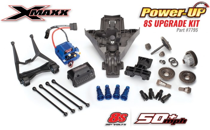 x-maxx-8s-upgrade-kit